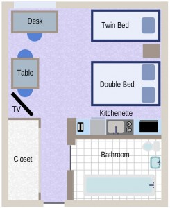 Standad Double/Twin Room